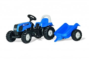 rolly toys - rollyKid Landini blau inkl. Anhänger