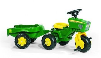 rolly toys - rollyTrac John Deere Dreirad - inkl. Anhänger