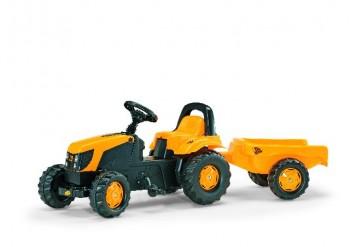 rolly toys - rollyKid JCB gelb inkl. Anhänger