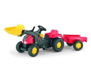 rolly toys - rollyKid-X rot inkl. Lader und Anhänger