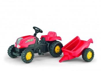 rolly toys - rollyKid-X rot inkl. Anhänger