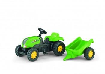 rolly toys - rollyKid-X grün inkl. Anhänger