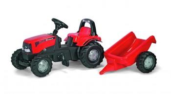 rolly toys - rollyKid Case CVX 1170 rot inkl. Anhänger
