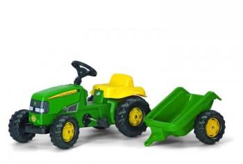 rolly toys - rollyKid John Deere mit Anhänger