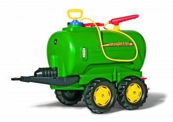 rolly toys - rollyTanker John Deere grün mit  Pumpe und Spritze - Tankwagen