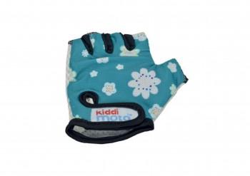 Fahrradhandschuhe Fleur M - Kinder Gokart Handschuhe Blumen Kiddimoto