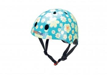 Fahrradhelm Fleur M Kinder Gokart Helm Blumen Kiddimoto