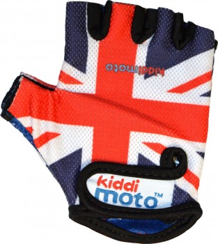 Fahrradhandschuhe Union Jack S - Kinder Gokart Handschuhe Kiddimoto