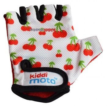 Fahrradhandschuhe Cherry S - Kinder Gokart Handschuhe Kirschen Kiddimoto