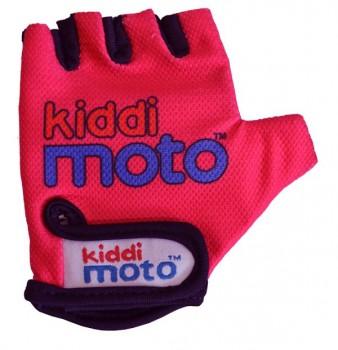 Fahrradhandschuhe Neon Pink M - Kinder Gokart Handschuhe pink Kiddimoto
