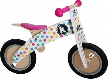 Kurve Pastel Dotty - Laufrad von Kiddimoto