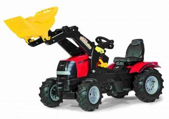 rolly toys - rollyFarmtrac Case Puma rot inkl. Ladeschaufel und Luftbereifung