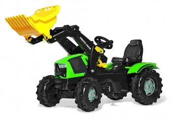 rolly toys - rollyFarmtrac Deutz Fahr grün inkl. Ladeschaufel