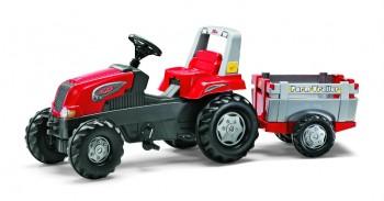 rolly toys - rollyJunior RT rot inkl. Anhänger