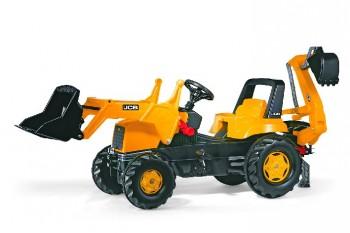 rolly toys - rollyJunior JCB gelb inkl. Ladeschaufel und Heckbagger