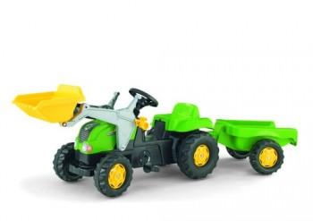 rolly toys - rollyKid-X grün inkl. Lader und Anhänger