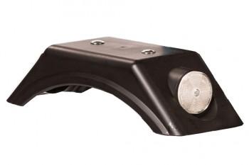 Kotflügel schwarz mit Reflektor- Dino Cars - Ersatzteile