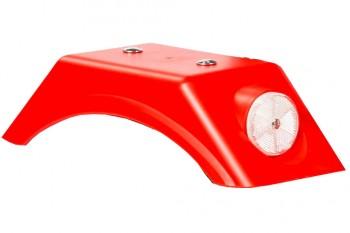 Kotflügel rot mit Reflektoren - Dino Cars - Ersatzteile