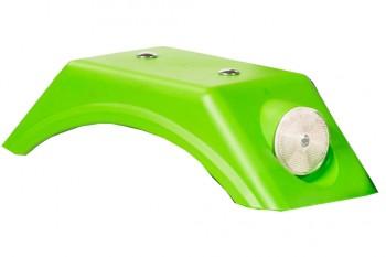 Kotflügel grün mit Reflektoren - Dino Cars - Ersatzteile