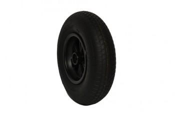 40er Komplettrad Leichtlaufprofil schwarz - Dino Cars - Ersatzteile