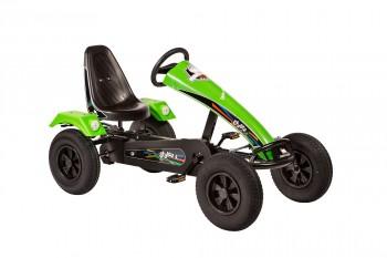 Stylez AF mit Leichtlaufreifen/Rahmen schwarz /Frontspoiler grün