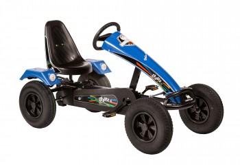 Stylez AF mit Leichtlaufreifen/Rahmen schwarz /Frontspoiler blau