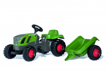 rolly toys - rollyKid Fendt grün inkl. Anhänger