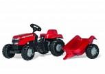 rolly toys - rollyKid Massey Ferguson rot inkl. Anhänger