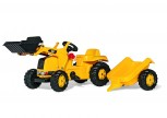 rolly toys - rollyKid CAT inkl. Lader und  Anhänger