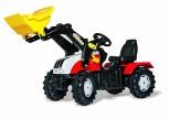 rolly toys - rollyFarmtrac Steyr 6240 CVT inkl. Ladeschaufel- Farmtrac Classic