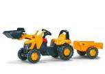 rolly toys - rollyKid JCB gelb inkl. Lader und  Anhänger