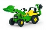 rolly toys - rollyJunior John Deere inkl. Ladeschaufel und Heckbagger