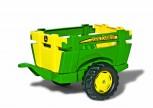 rolly toys - rollyFarm Trailer John Deere grün - Anhänger