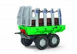 rolly toys - rollyTimber Trailer grün - Holzfuhrwerk