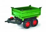 rolly toys - rollyMega Trailer grün mit roten Felgen - Anhänger
