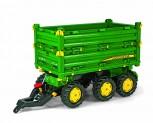 rolly toys - rollyMulti Trailer John Deere grün - Anhänger