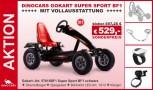 AKTION! Dino Cars Gokart SUPER Sport BF1 schwarz mit Vollausstattung!