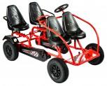 Dino Cars Gokart Train - das 4-Personen Gokart