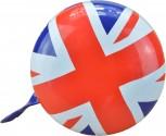 Union Jack - Britische Fahne - Klingel Groß für Laufrad, Gokart, Fahrrad