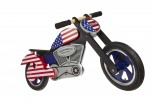 Chopper Stars & Stripes -  Laufrad von Kiddimoto