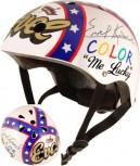 Evel Knievel - Größe M - Helm und Handschuh im Set von Kiddimoto