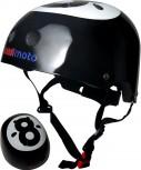 Eight Ball - Größe M - Helm und Handschuh im Set  von Kiddimoto