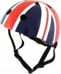 Fahrradhelm Union Jack M - Kinder Gokart Helm Großbritannien Flagge Kiddimoto