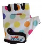 Pastel Dotty - Größe S - bunte Pünktchen Handschuhe von Kiddimoto
