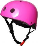 Fahrradhelm Neon Pink S - Kinder Gokart Helm rosa Kiddimoto