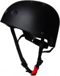 Matt Black - Größe S - schwarzer Helm von Kiddimoto