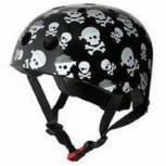Fahrradhelm Skullz M - Kinder Gokart Helm Totenkopf Kiddimoto