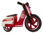 Scooter - Red Stripe -  Laufrad von Kiddimoto