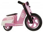 Scooter - Pink Stripe -  Laufrad von Kiddimoto