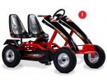 Dino Cars Gokart Twin F mit Stahlfelgen - das 2-Personen Gokart